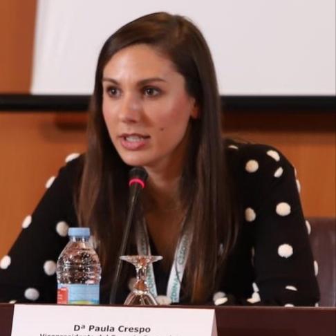 Paula Crespo, presidenta del Colegio Oficial de Dietistas y Nutricionistas de la Comunitat Valenciana